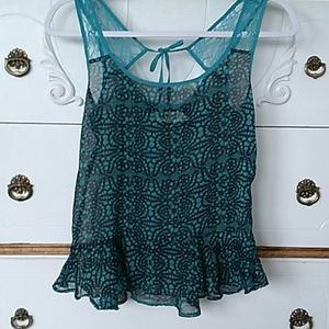 Selena Gomez▪︎Dream out loud teal tank top